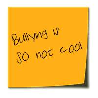 Bullying stickynote